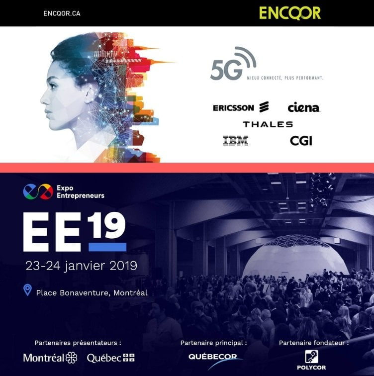 L'Initiative 5G ENCQOR à l'Expo Entrepreneurs